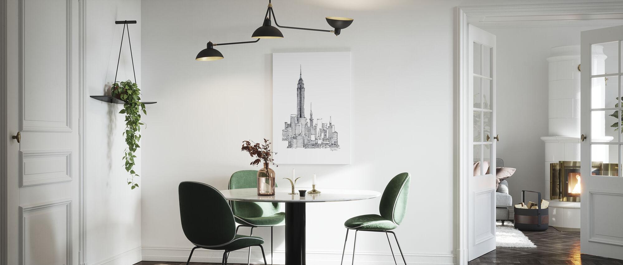 Avery Tillmon - Empire State - Canvas print - Kitchen
