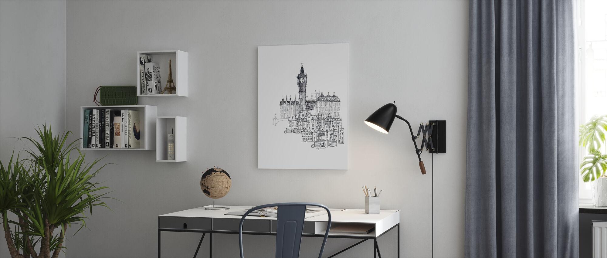 Avery Tillmon - Big Ben - Canvas print - Office