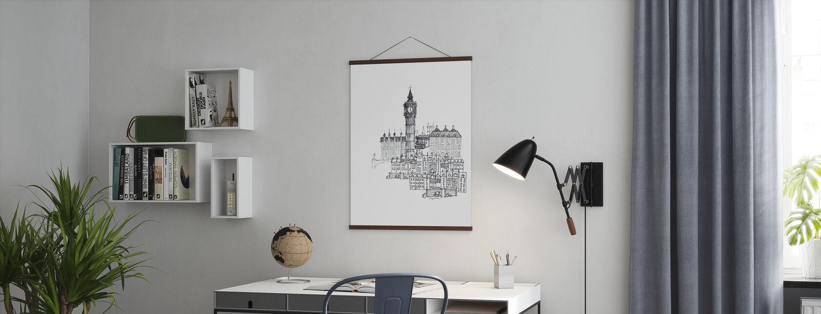 Avery Tillmon - Big Ben - Poster - Uffici