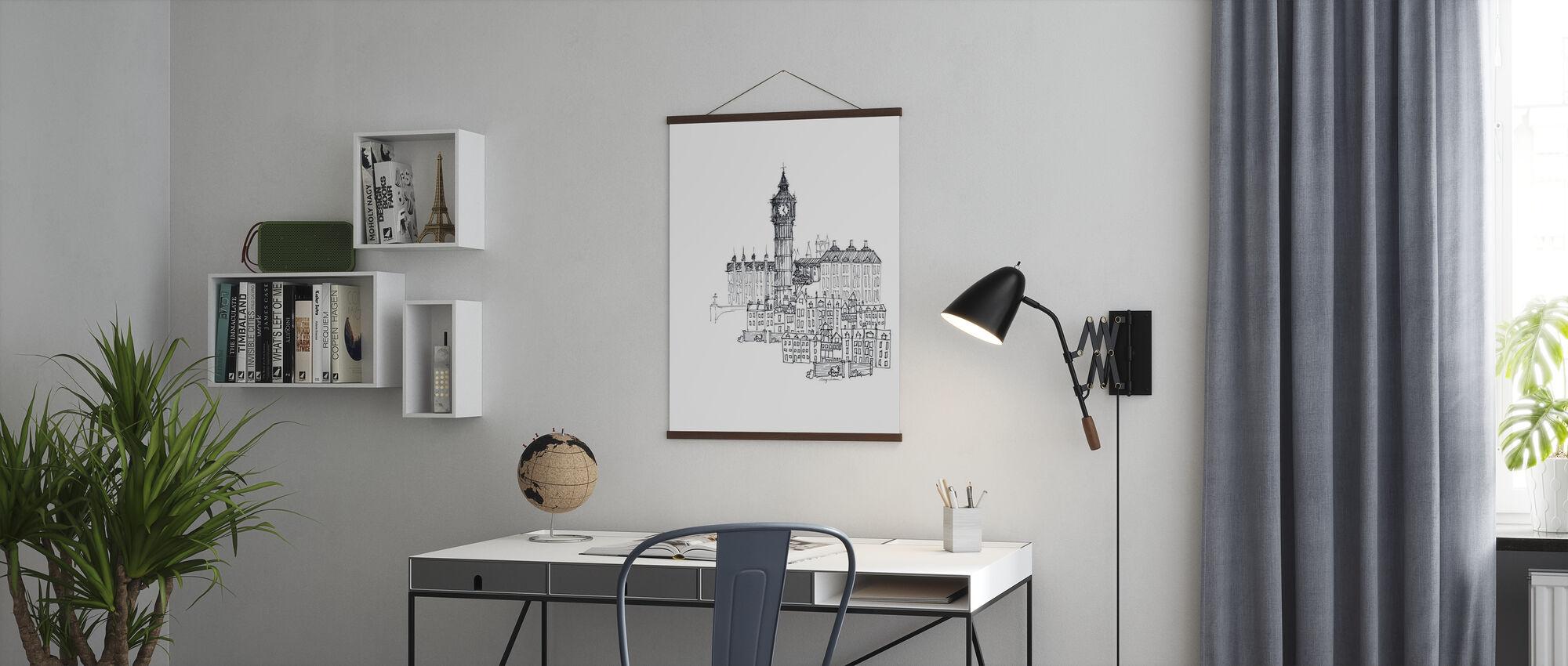 Avery Tillmon - Big Ben - Poster - Office