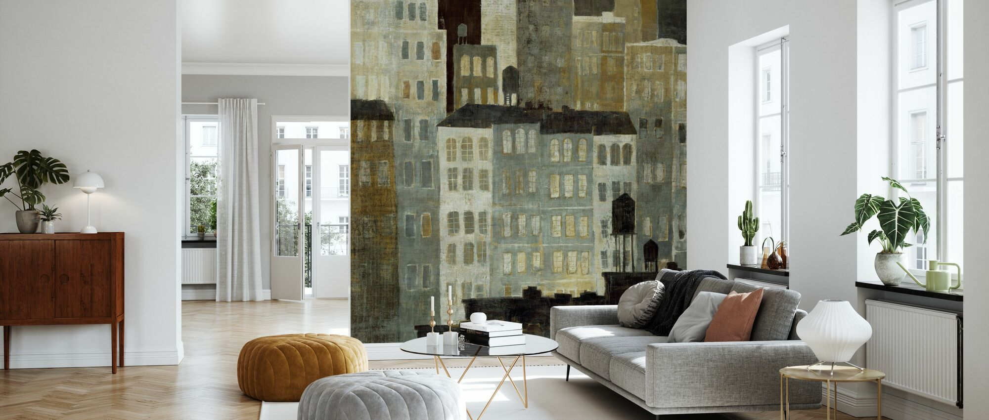 Avery Tillmon - Water Towers - Wallpaper - Living Room