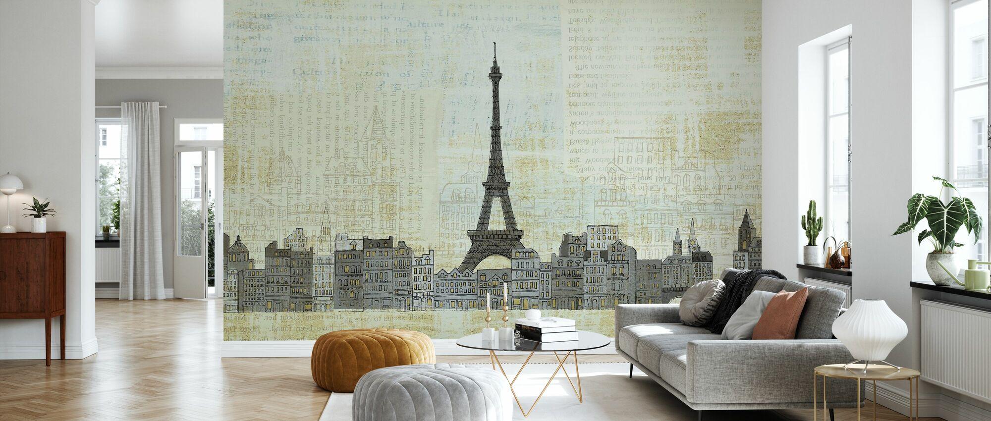 Avery Tillmon - Eiffelskyline - Tapet - Vardagsrum