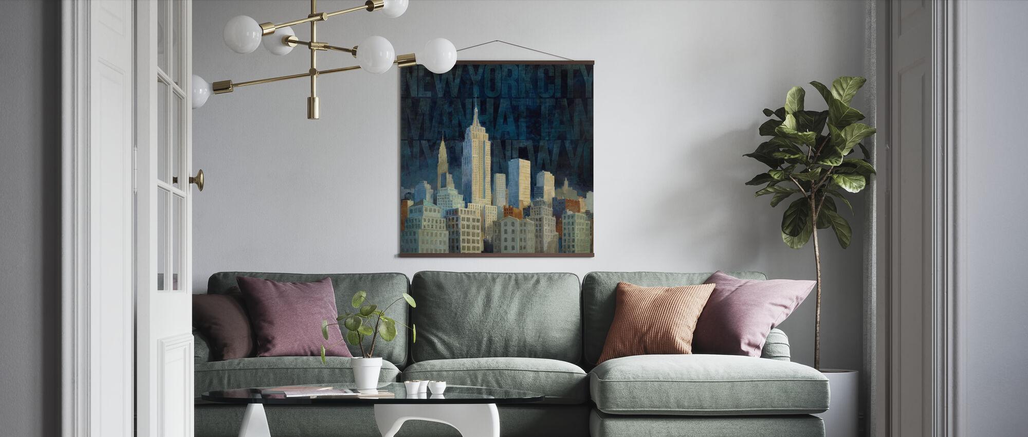 Avery Tillmon - midnatt i Midtown - Plakat - Stue