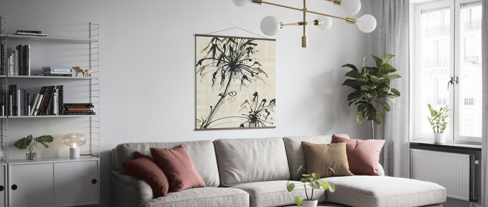 Avery Tillmon - Letting Go I - Poster - Living Room