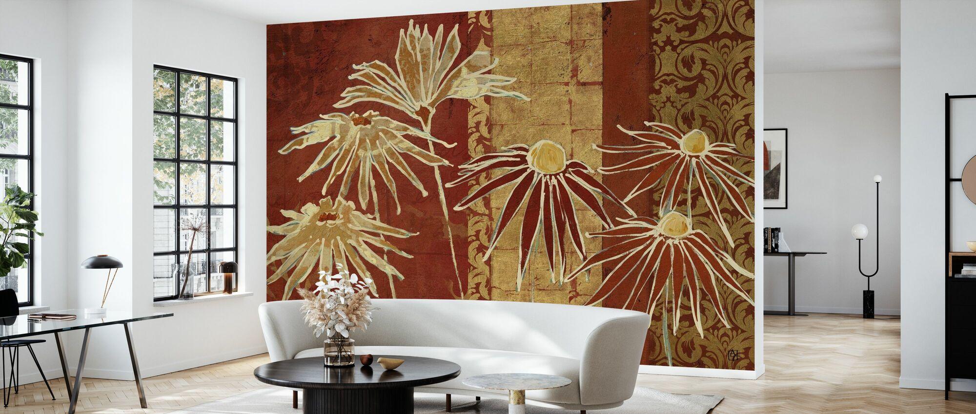 Avery Tillmon - Blomster på Spice - Tapet - Stue