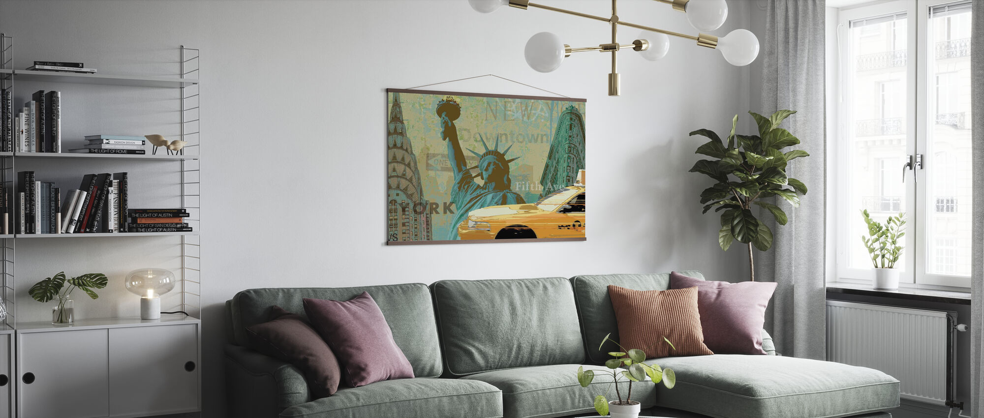 New York Weekend Collection - Poster - Living Room