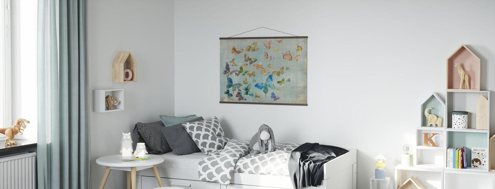 Butterflies - Poster - Kids Room