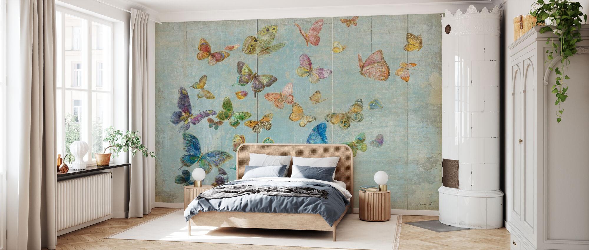 Fjärilar - Tapet - Sovrum