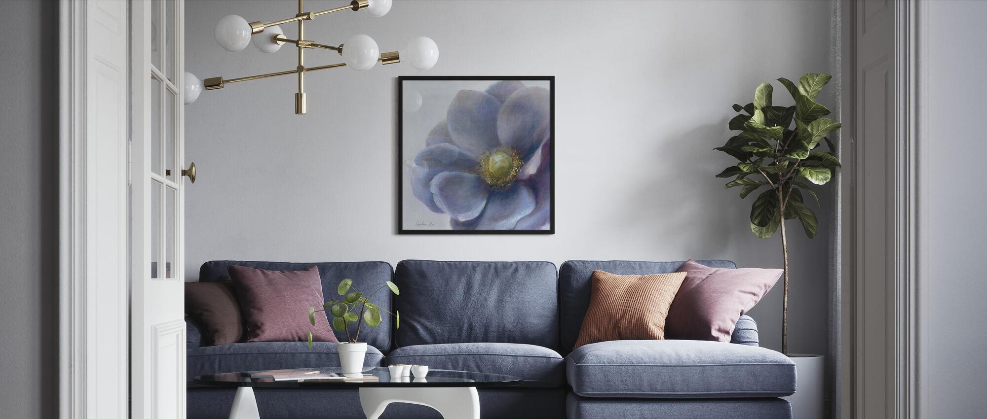 Contemporary Anemone - Framed print - Living Room