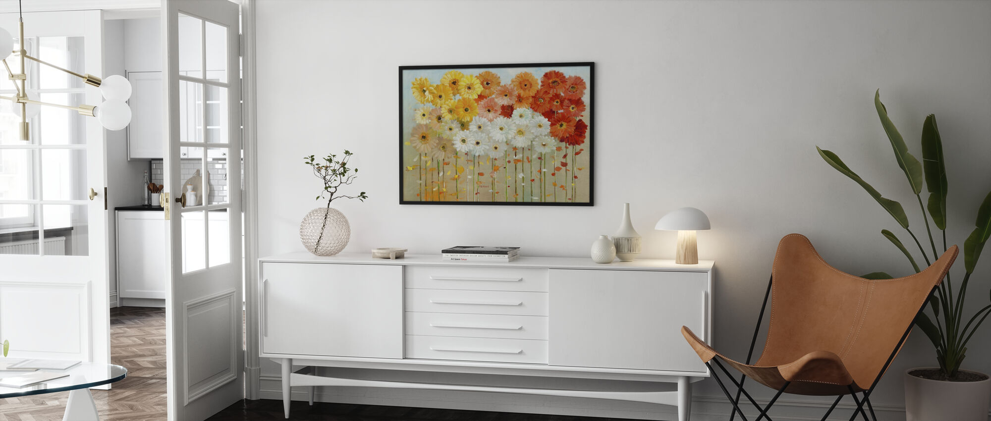 Daisies Fall - Poster - Living Room