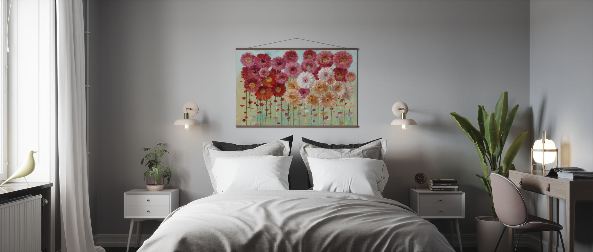 Daisies Spring - Poster - Bedroom
