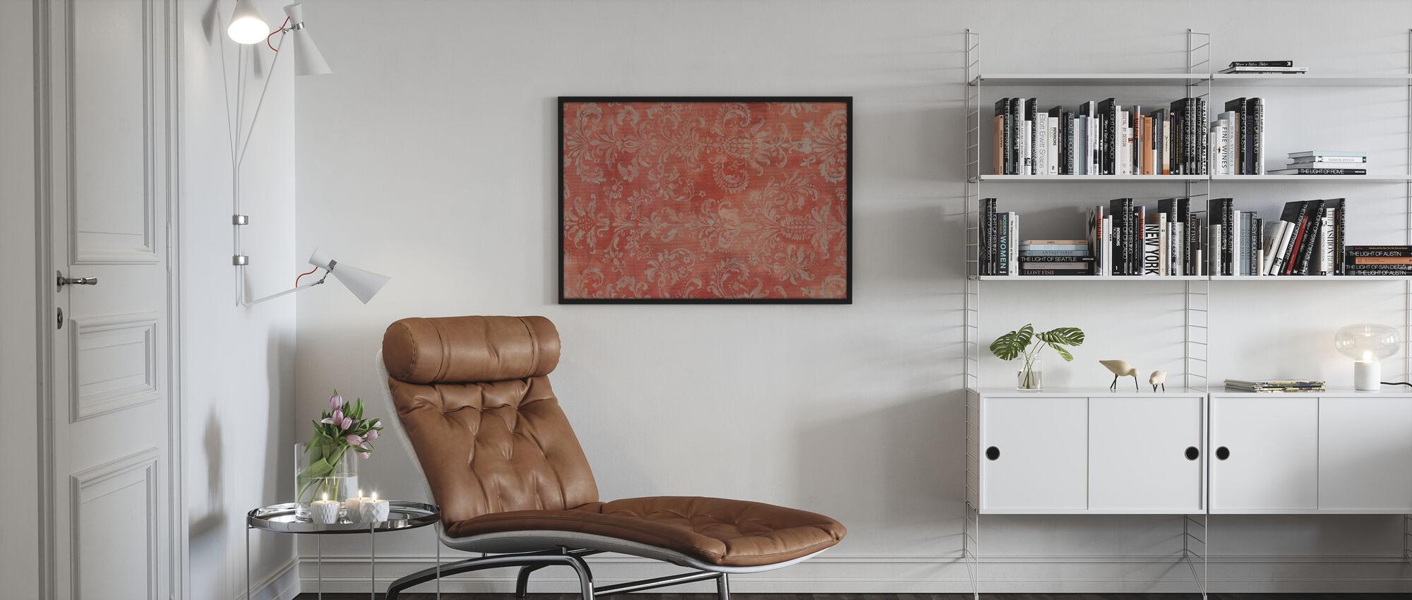 Damast textur - Poster - Vardagsrum