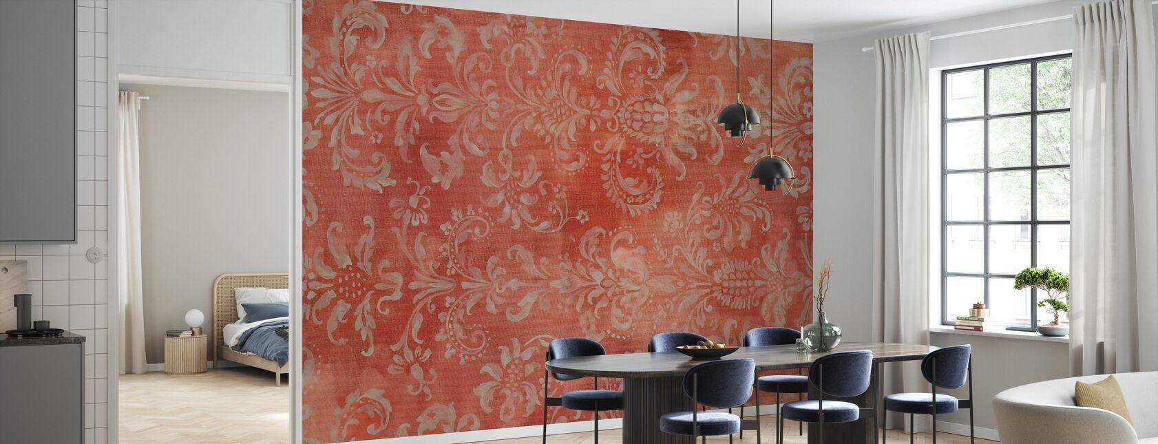 Damask Texture - Wallpaper - Kitchen