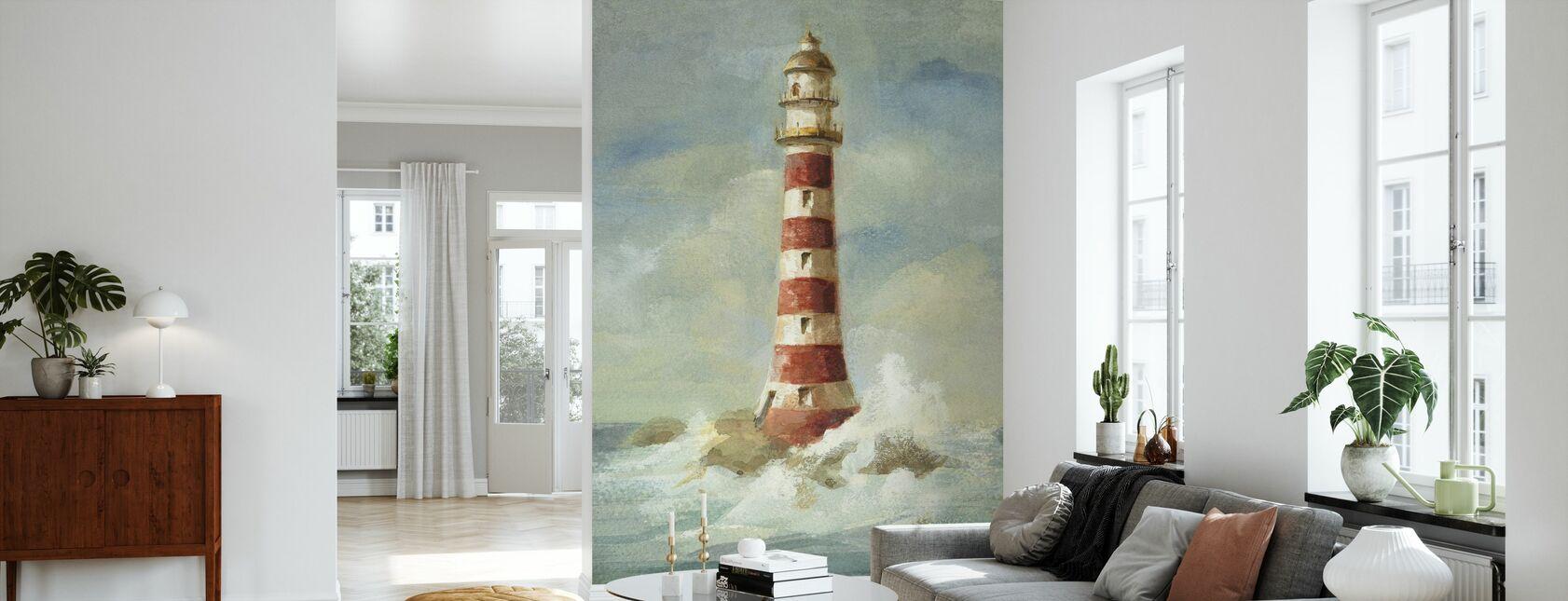 Lighthouse II - Wallpaper - Living Room