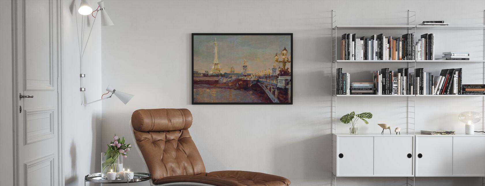 Pariser Abend - Poster - Wohnzimmer