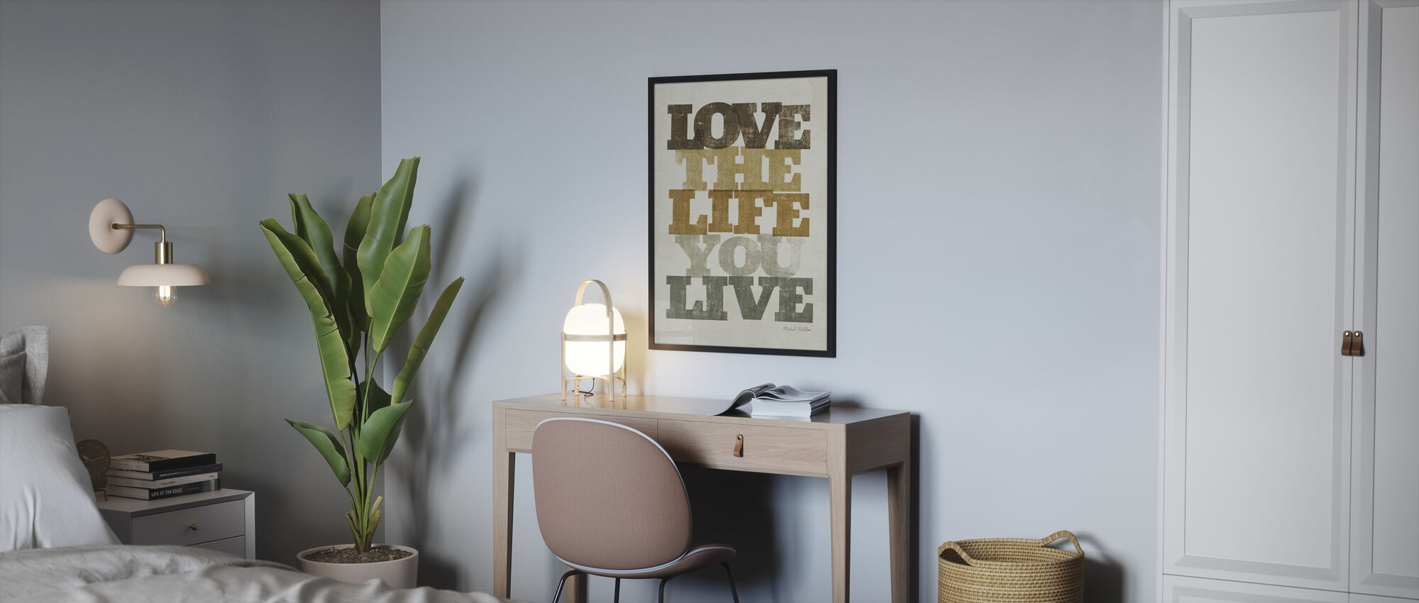 Live and Love II - Poster - Bedroom