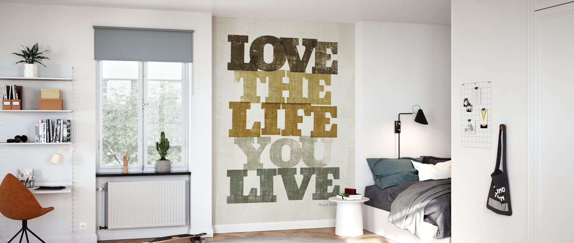 Vivre et Amour II - Papier peint - Chambre des enfants