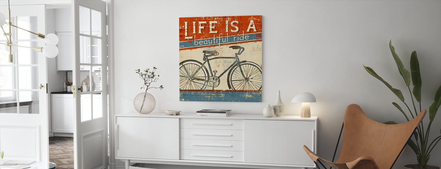 Beautiful Ride I - Canvas print - Living Room