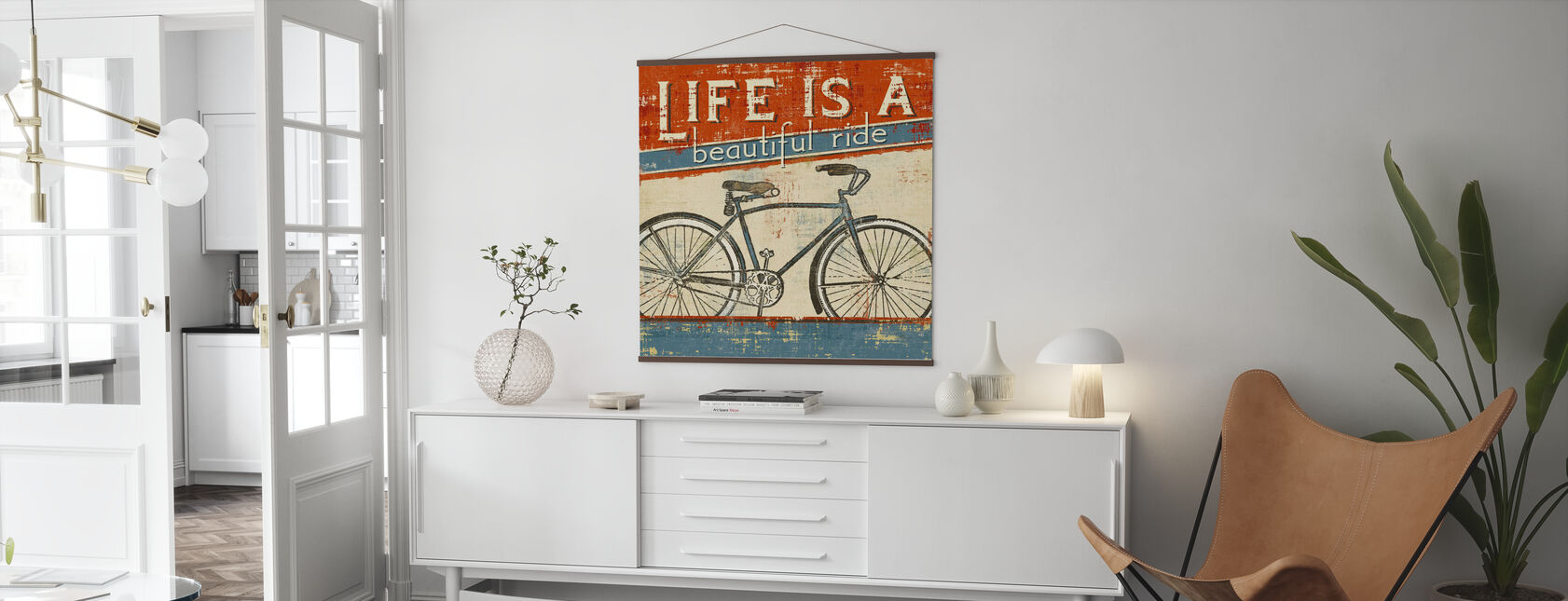 Smuk Ride I - Plakat - Stue