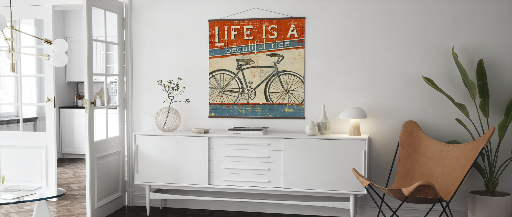 Beautiful Ride I - Poster - Living Room