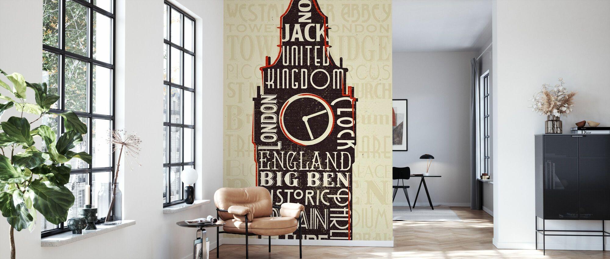 London City Ord II - Tapet - Stue
