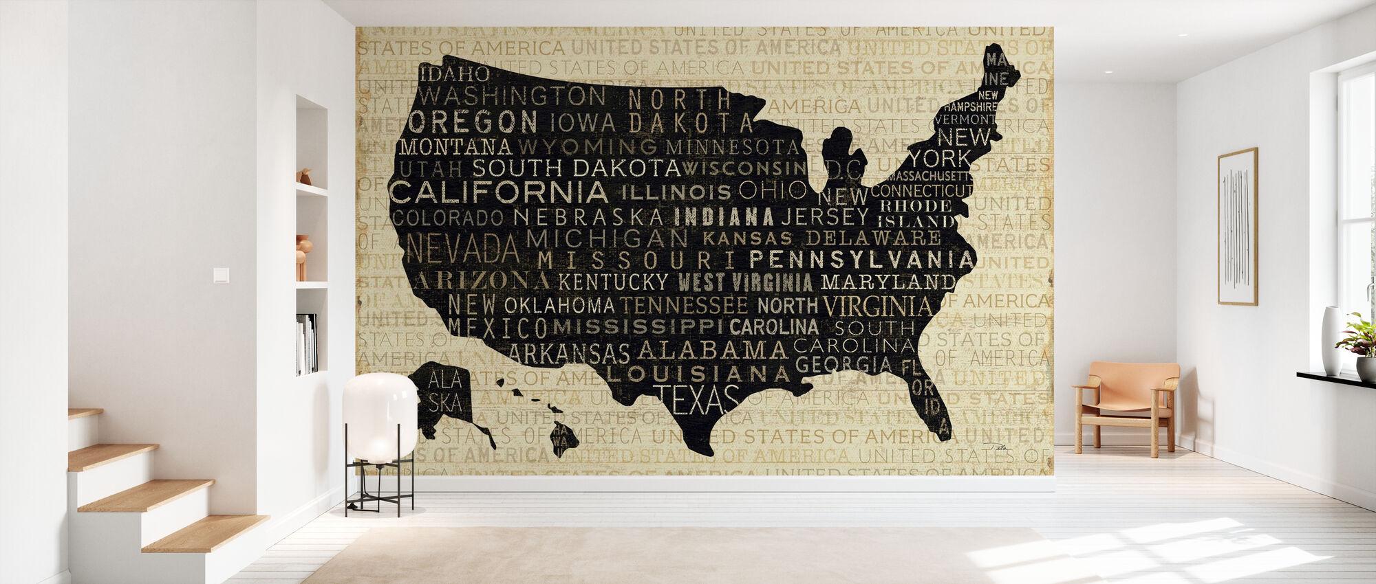 USA V - Wallpaper - Hallway
