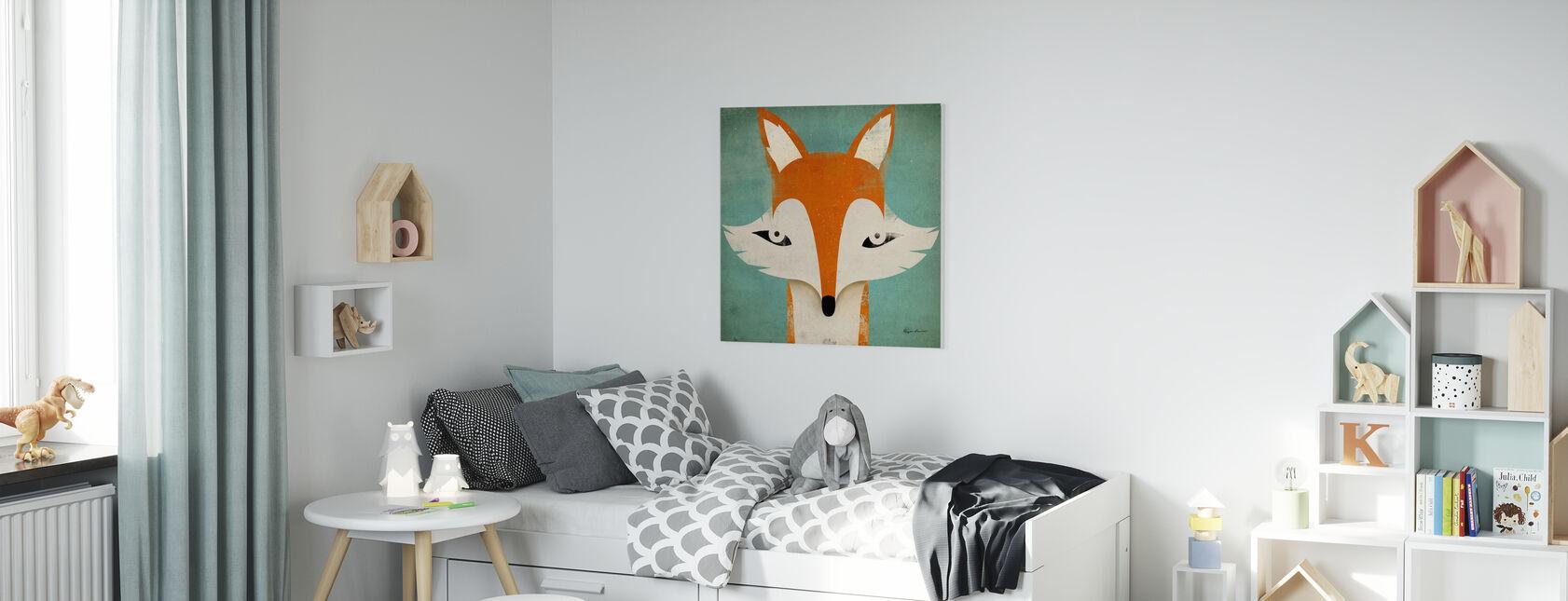 Renard - Impression sur toile - Chambre des enfants