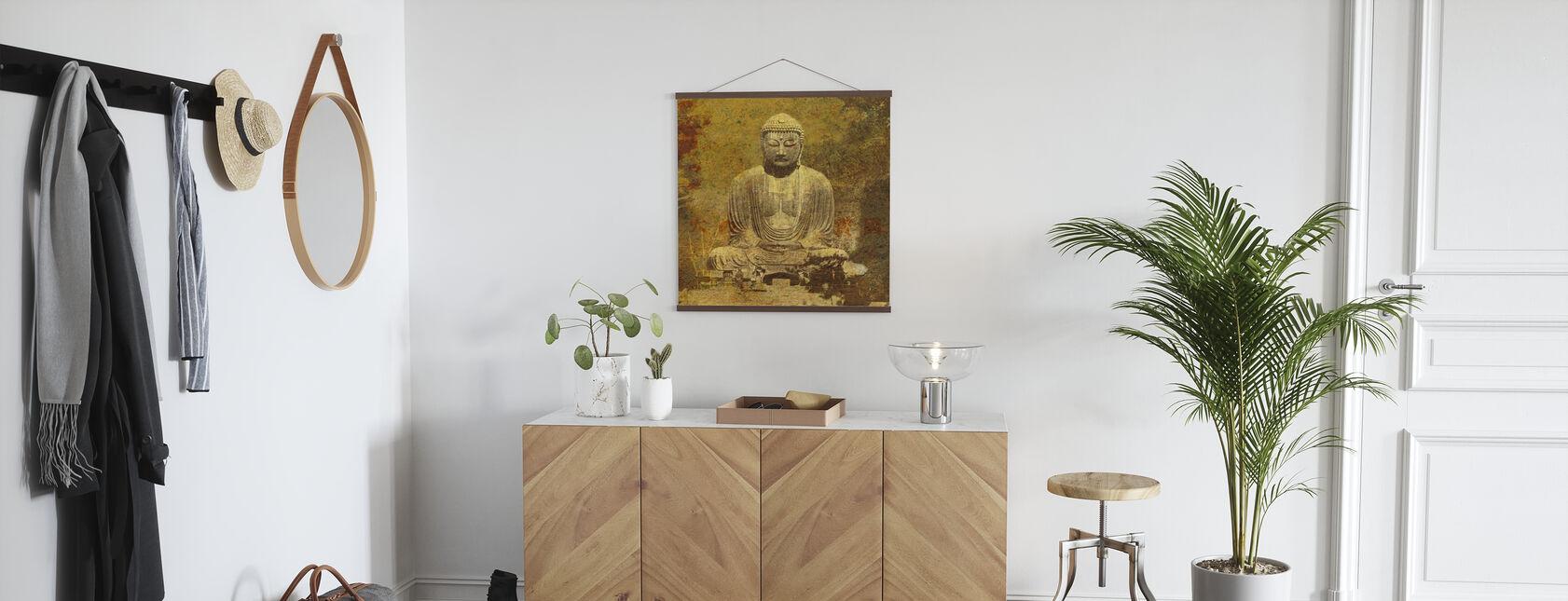 Aziatische Boeddha - Poster - Gang