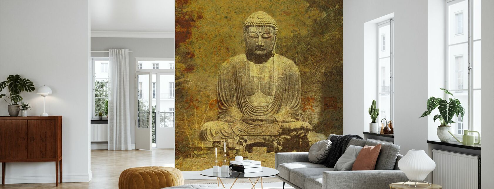 Asiatisk Buddha - Tapet - Vardagsrum