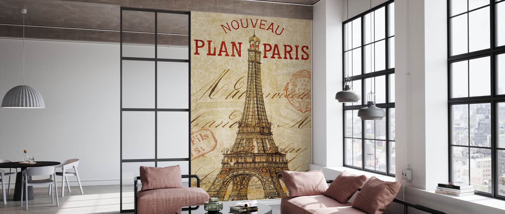 Letter from Paris - Wallpaper - Office