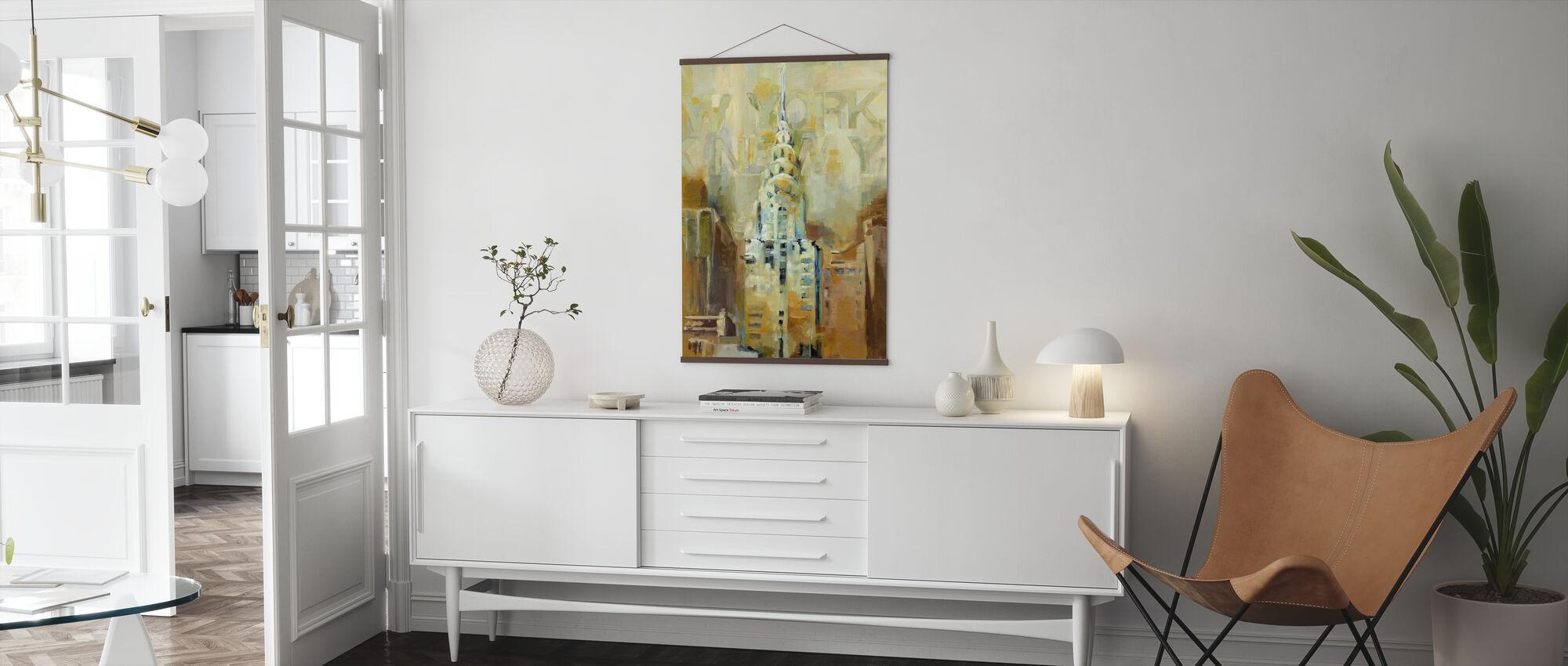 The Chrysler Building - Poster - Living Room