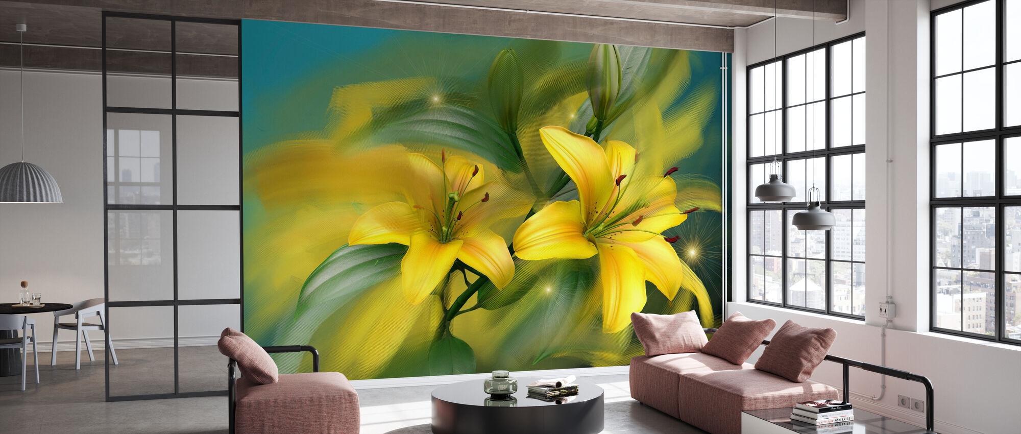 Flower Power - Wallpaper - Office