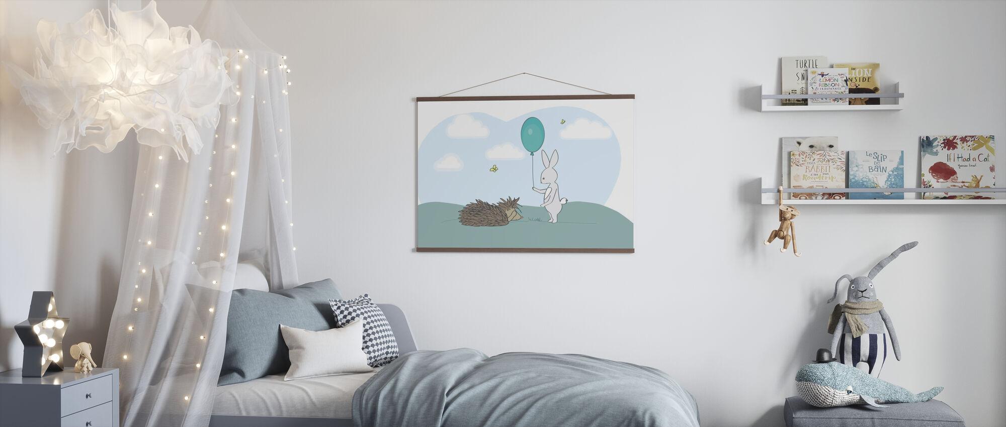 Storm en Sarah - Poster - Kinderkamer