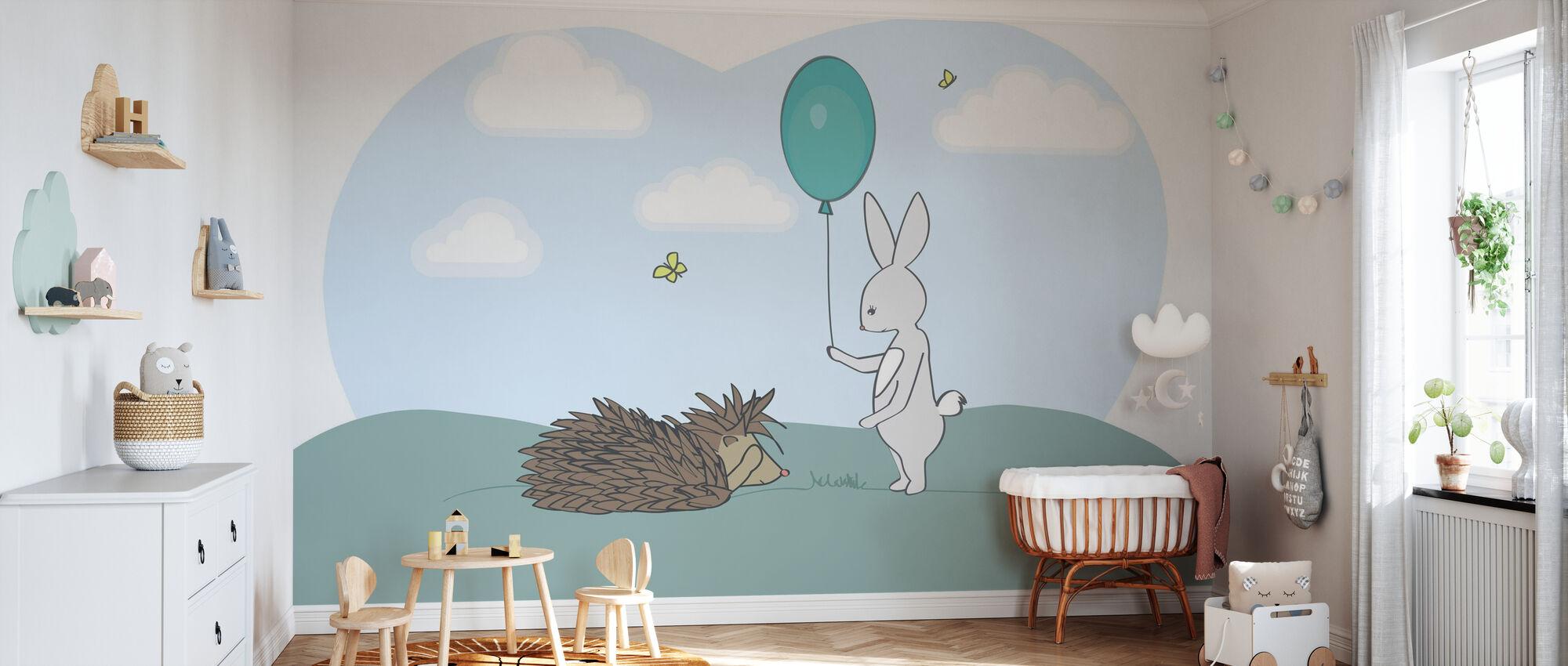 Storm and Sarah - Wallpaper - Nursery
