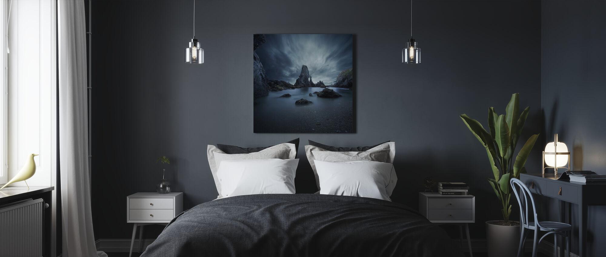 Rocas en Bretagne - Lienzo - Dormitorio