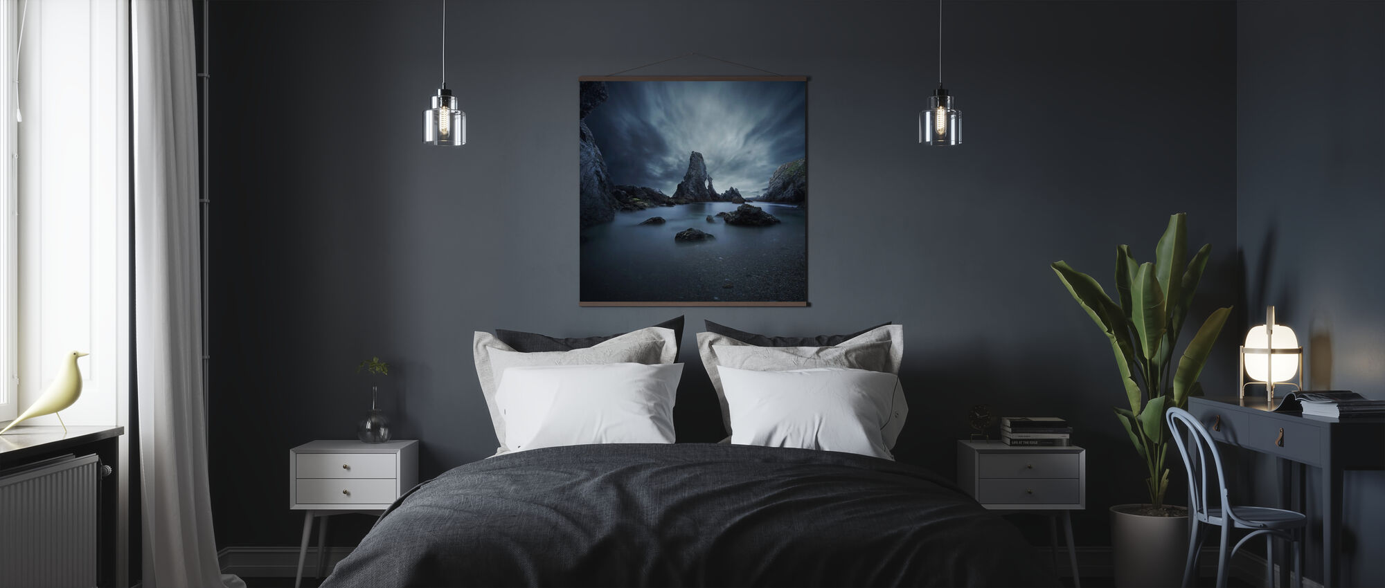 Rocks in Bretagne - Poster - Bedroom