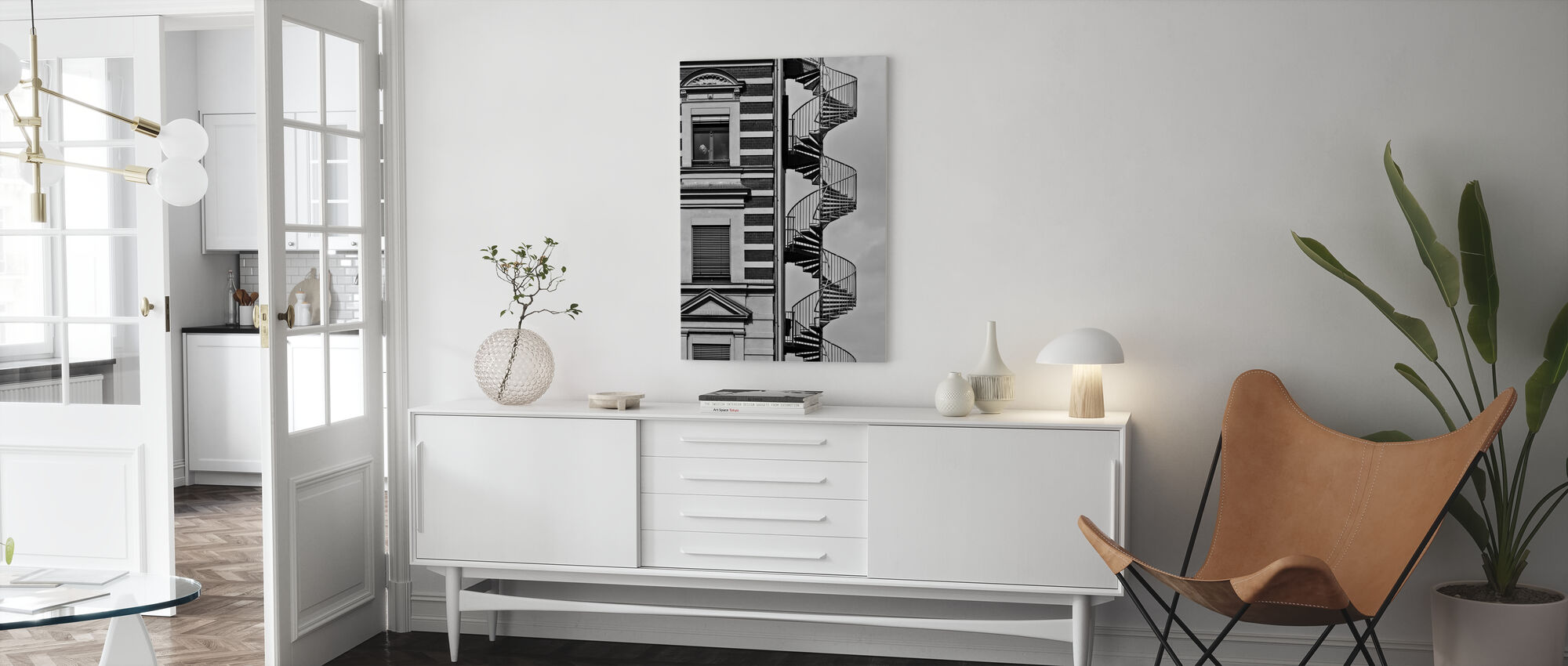 Lonely Man - Canvas print - Living Room