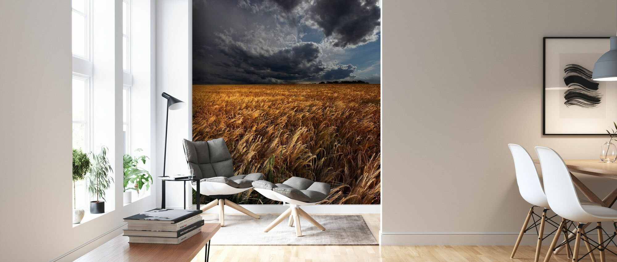 Worried Sky - Wallpaper - Living Room