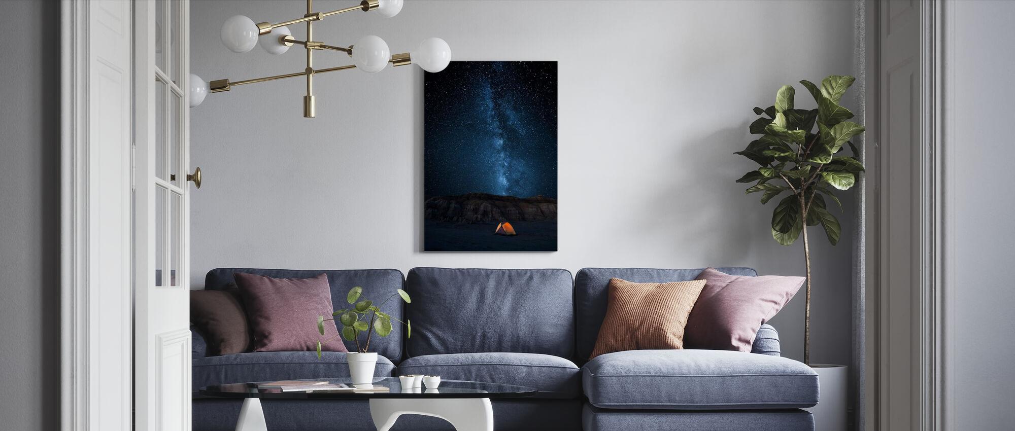 Starry himmel - Canvastavla - Vardagsrum