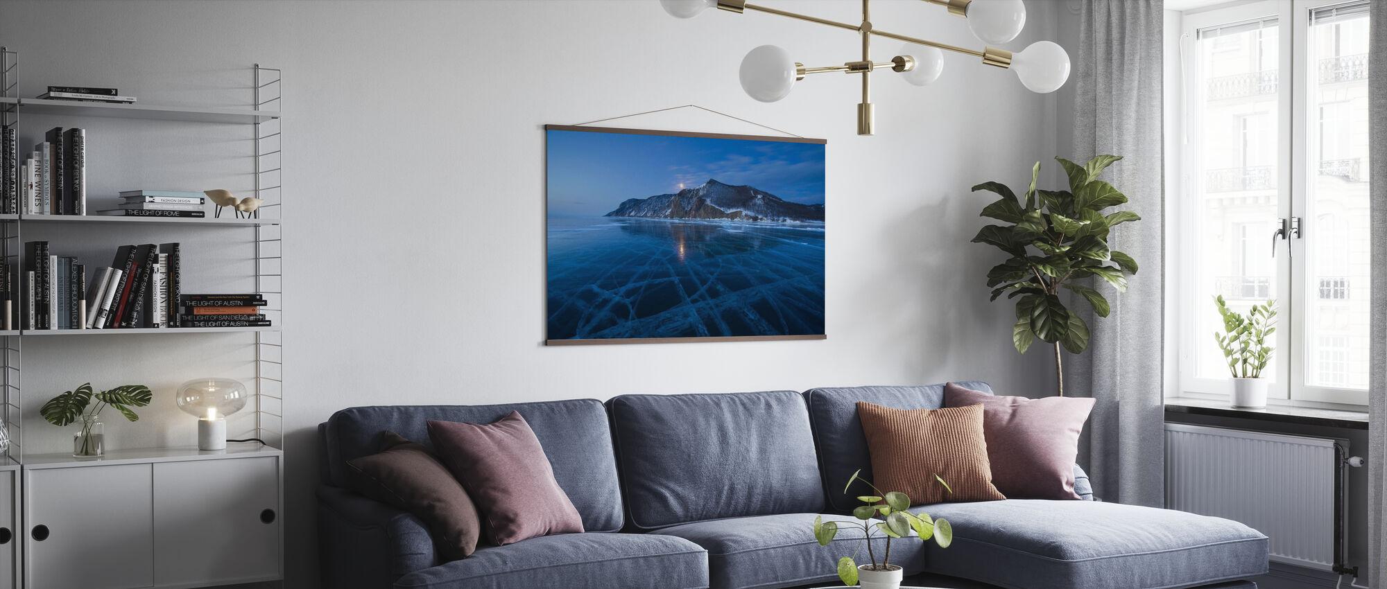 Frozen Lake - Poster - Living Room