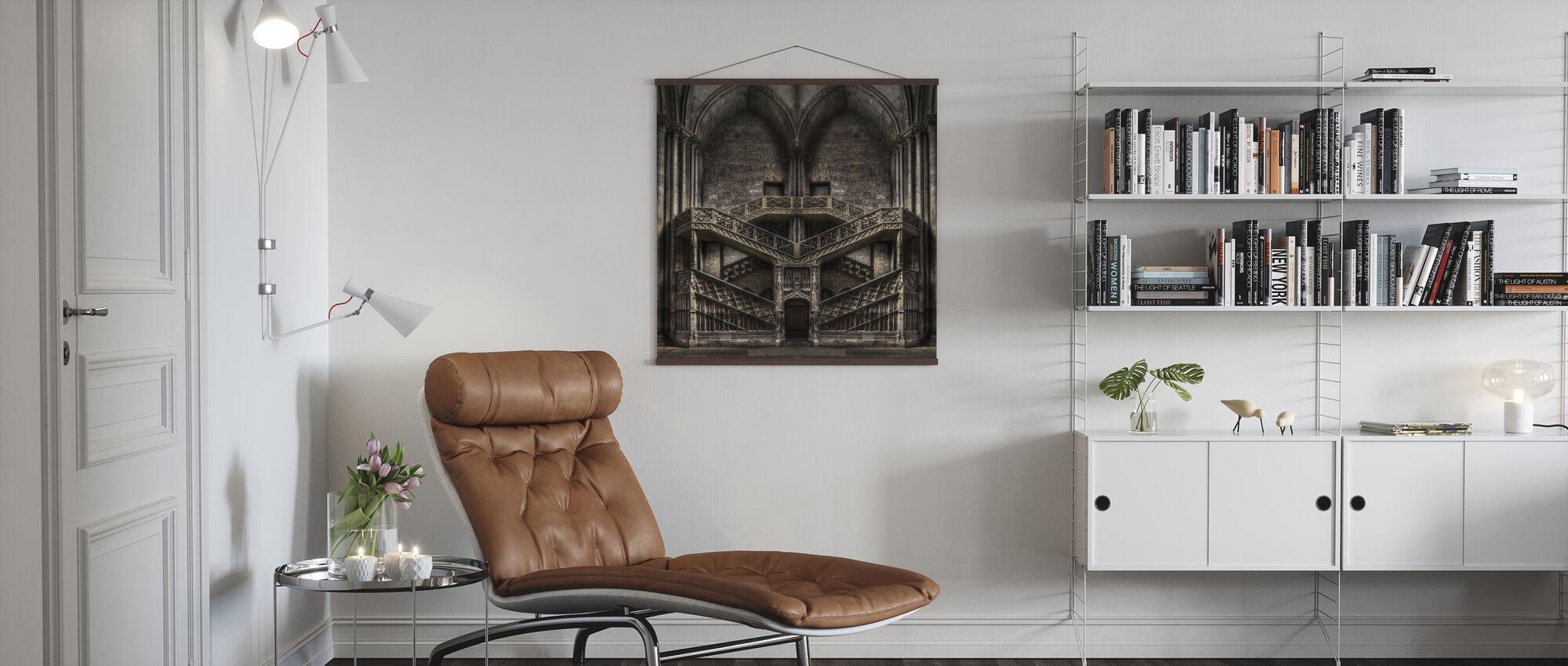 Slott Arkitektur - Plakat - Stue