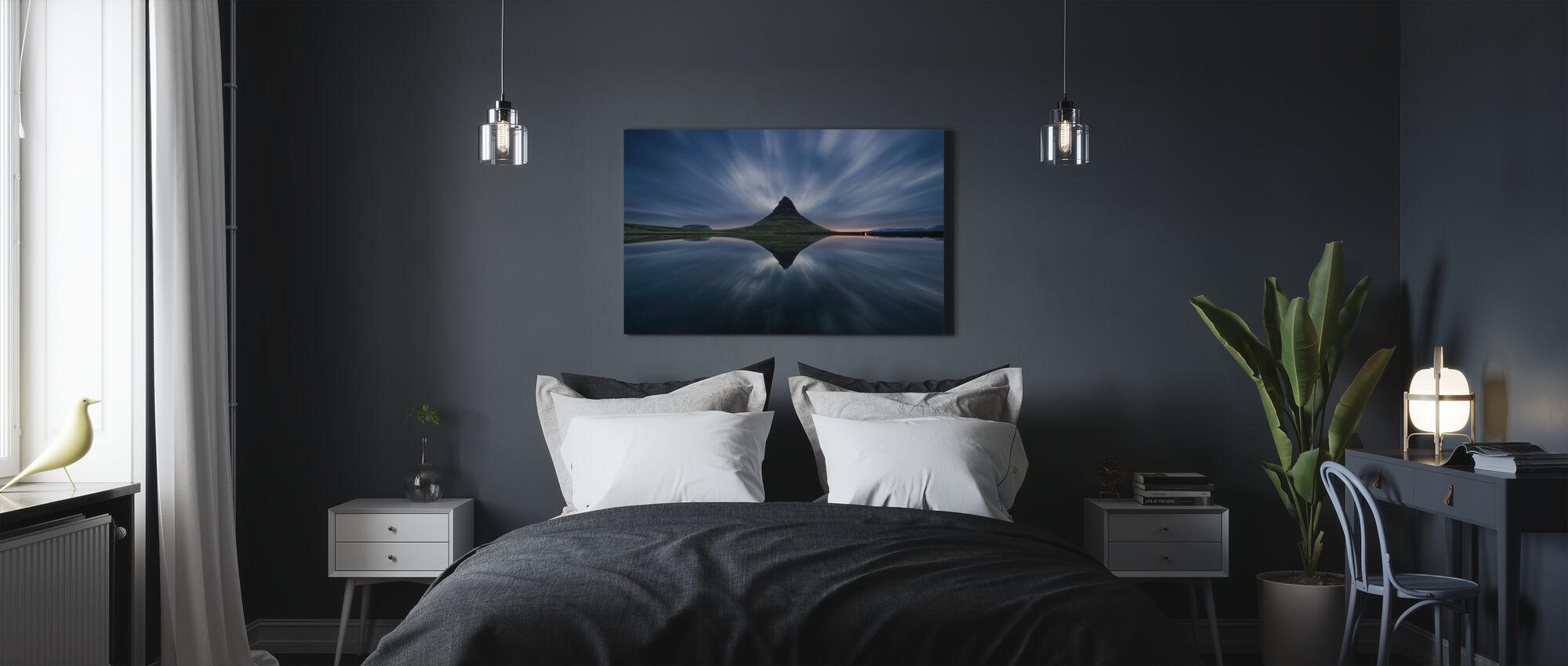 Kirkufjell - Canvastaulu - Makuuhuone