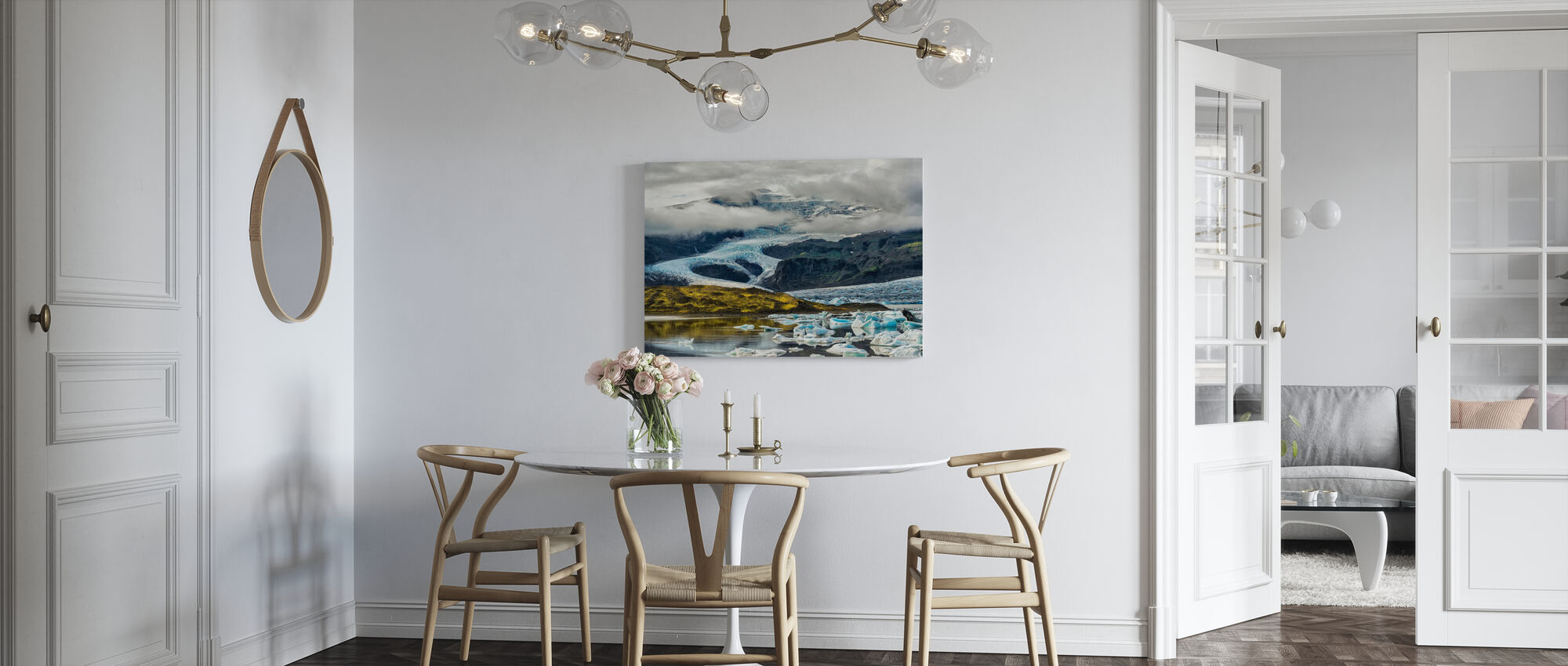 Icelandic Glacier - Canvas print - Kitchen