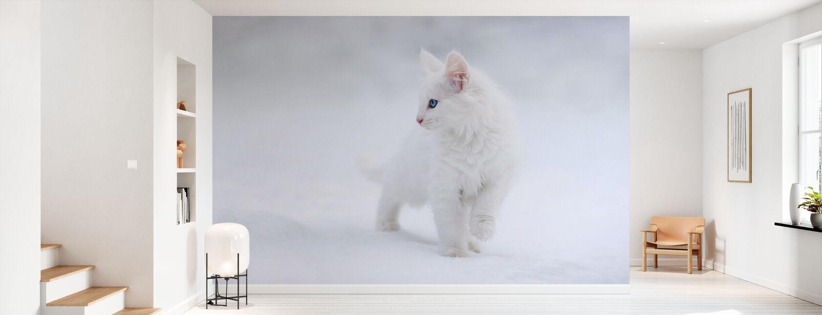 Hvit som snø - Tapet - Gang