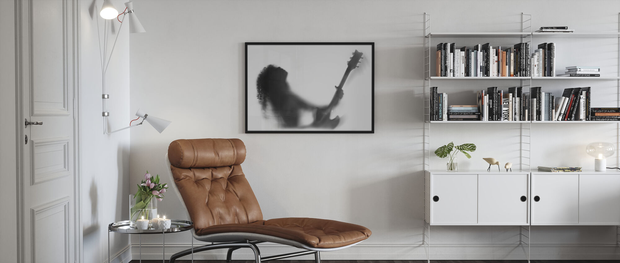 Guitar Solo - Poster - Living Room