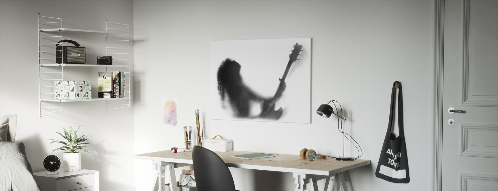 Guitar Solo - Canvas print - Kids Room