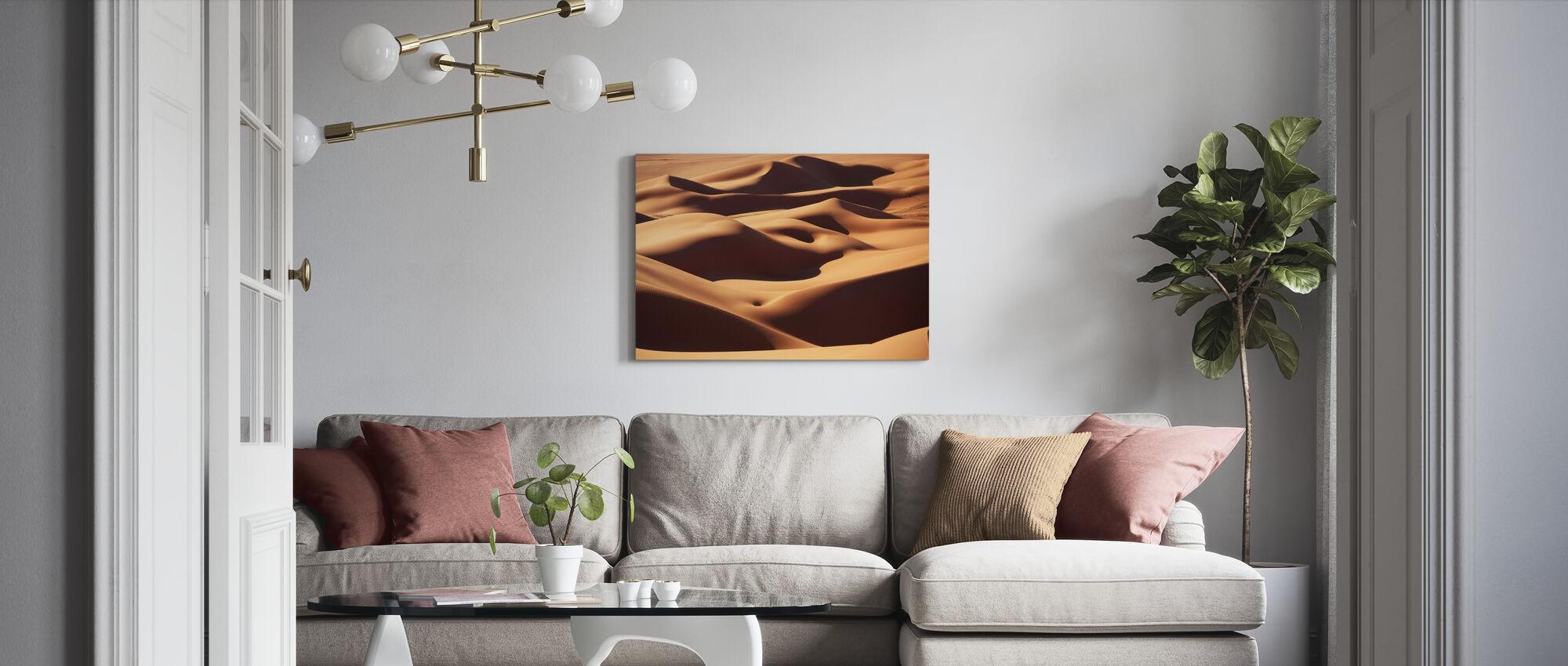 Sand Landscape - Canvas print - Living Room