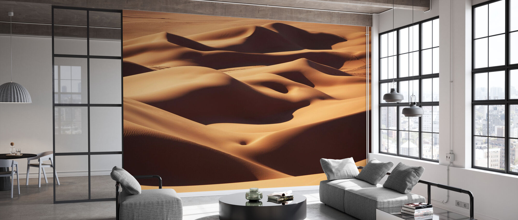 Sand Landscape - Wallpaper - Office