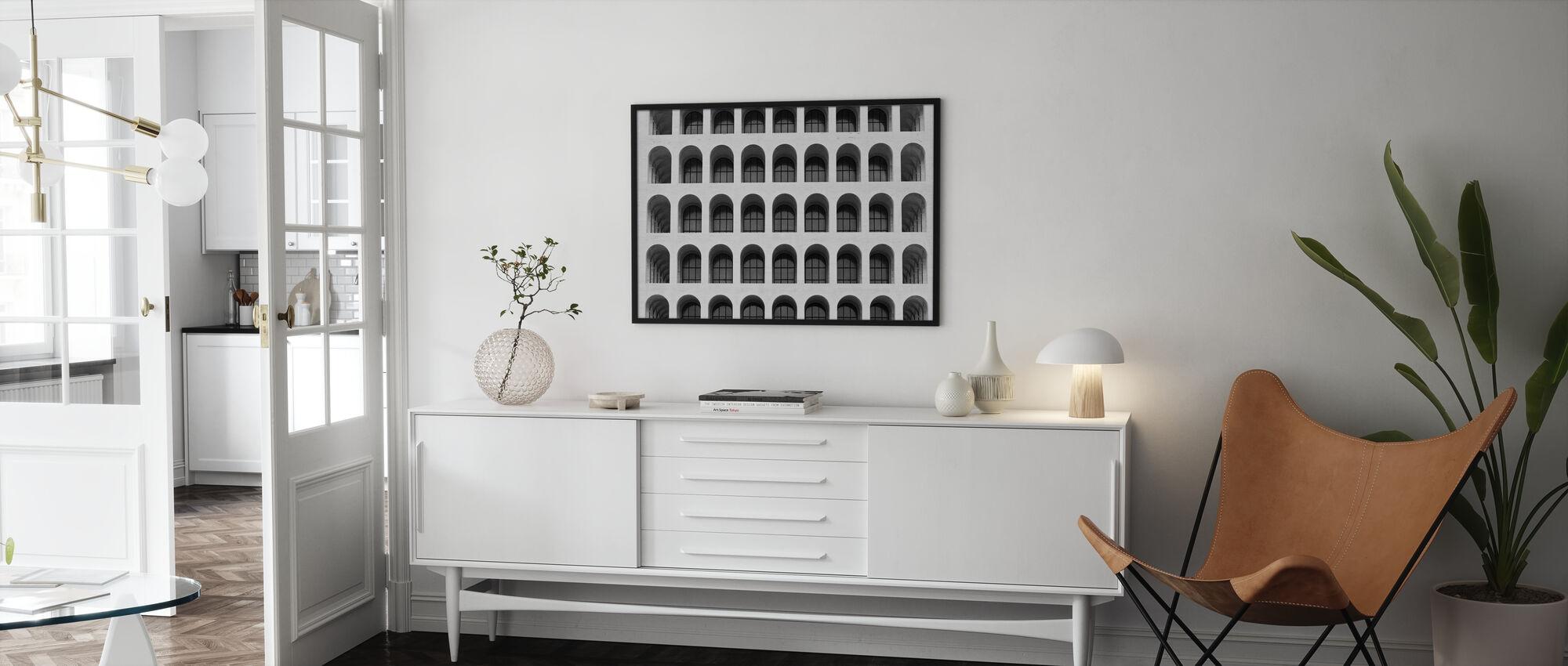 Kolosseum-Fenster - Poster - Wohnzimmer