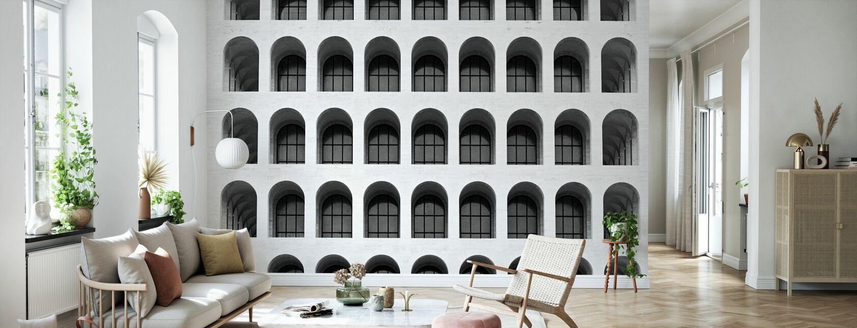 Colosseum Windows - Wallpaper - Living Room